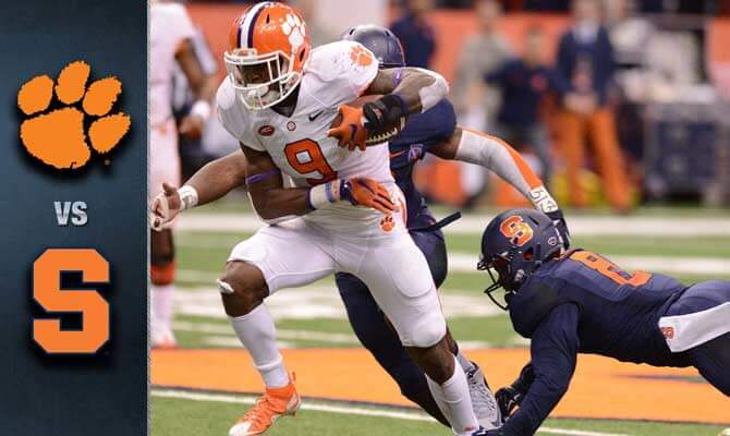 Clemson Tigers vs. Syracuse Orange College Football Betting Preview and Odds
