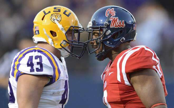 LSU Tigers vs. Ole Miss Rebels US Sportsbooks Betting Odds and Preview