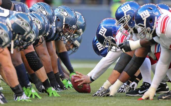 Seattle Seahawks Betting Favorites against New York Giants on NFL Week 7