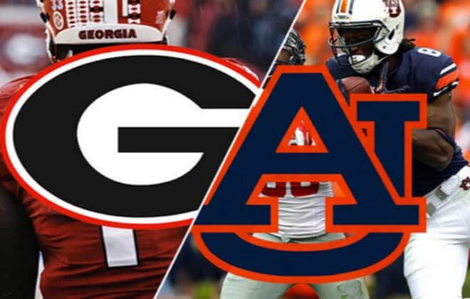 Georgia Bulldogs vs. Auburn Tigers Odds and Predictions