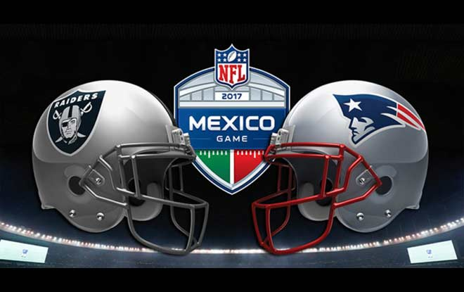 NFL Mexico Odds: Oakland Raiders vs. New England Patriots Betting 1