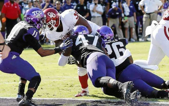 TCU Horned Frogs vs Oklahoma Sooners Odds