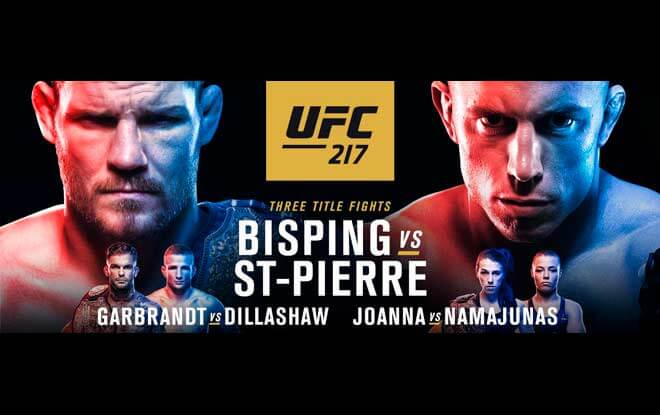 UFC 217 Best Bets to Make on Sportsbooks