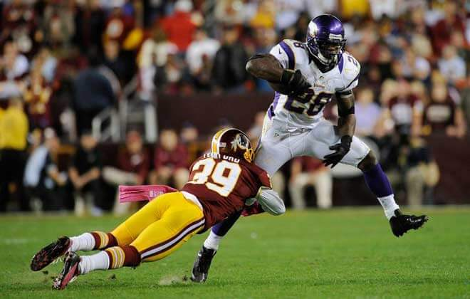 NFL Betting Lines Washington Redskins vs. Minnesota Vikings