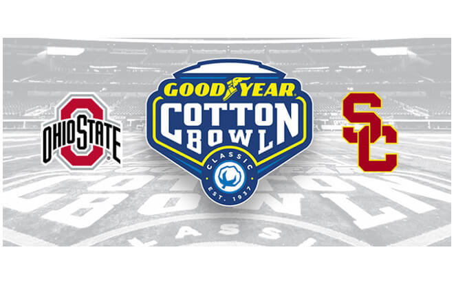 2017 Cotton Bowl Classic Betting Odds and FREE Picks - USC vs. Ohio State