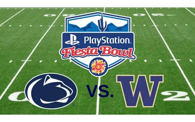 2017 Fiesta Bowl Picks and Odds - Washington Huskies vs. Penn State Nittany Lions