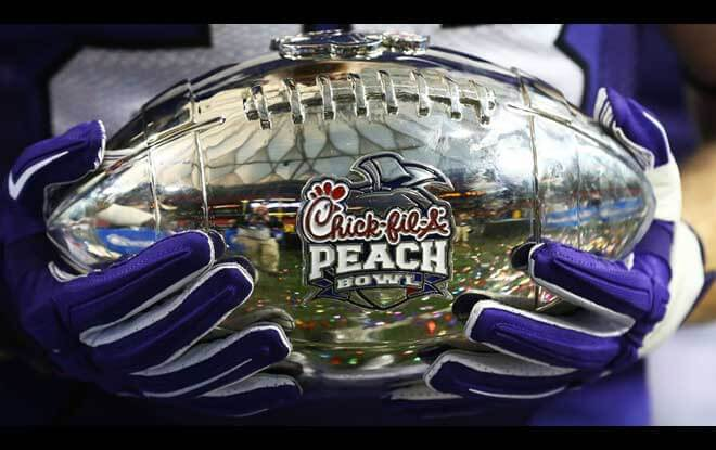 Chick-fil-A Peach Bowl | College Football Playoff Semifinal odds and predictions