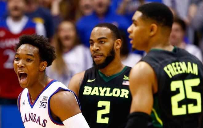 NCAA Basketball Picks & Analysis: Baylor Bears vs. Kansas Jayhawks 1