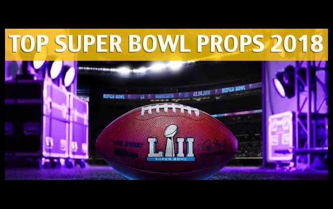 2018 Super Bowl Odds and Props - First Player to Score