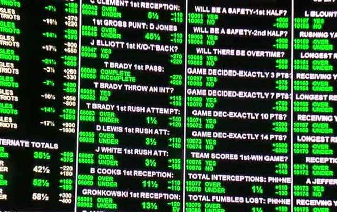 Super Bowl Betting Point Spread History
