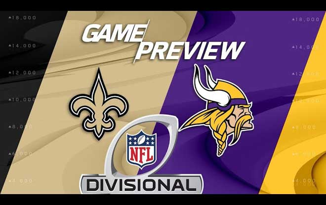 New Orleans Saints vs. Minnesota Vikings Latest Odds and Predictions NFL Divisional Playoffs