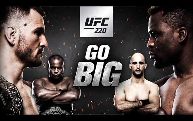 UFC 220 Latest Betting Odds, Preview and Analysis