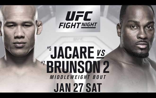 UFC on Fox: Jacaré vs. Brunson 2 Sportsbook Odds & Picks 1