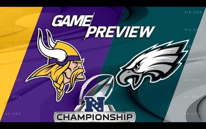 Minnesota Vikings vs. Philadelphia Eagles Odds NFC Championship Game Predictions and Advice