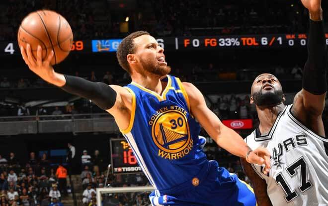 NBA Odds and Picks - Golden State Warriors vs. San Antonio Spurs on Saturday, February 10th 2018
