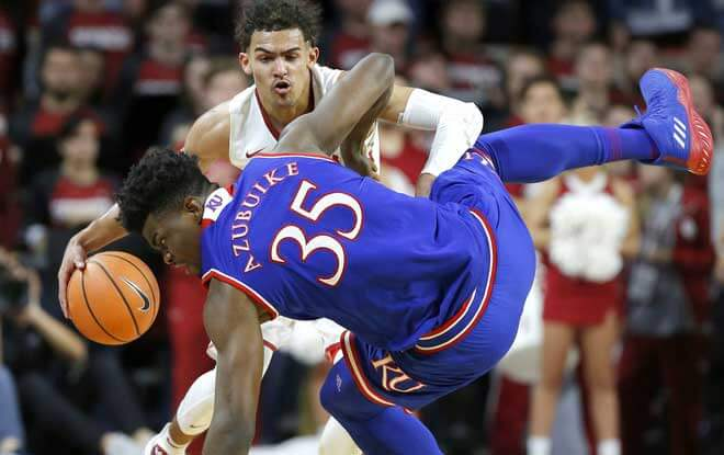 #23 Oklahoma Sooners vs. #13 Kansas Jayhawks College Basketball Odds and Picks