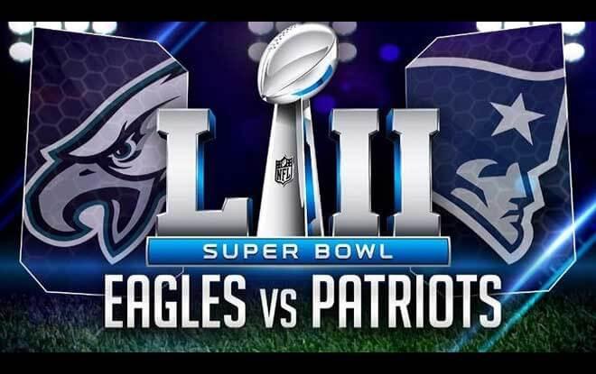 Super Bowl LII Score Prediction - Philadelphia Eagles vs. New England Patriots