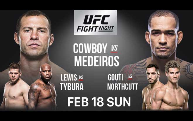 UFC Fight Night 126 Fight betting odds, picks and preview