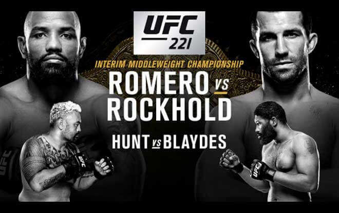 Luke Rockhold vs Yoel Romero Betting Odds - UFC 221
