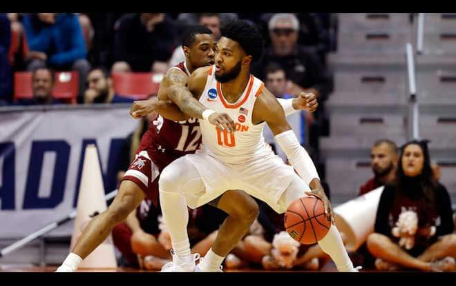 #5 Clemson Tigers vs. #1 Kansas Jayhawks Sweet Sixteen Odds - Friday March 23 2018