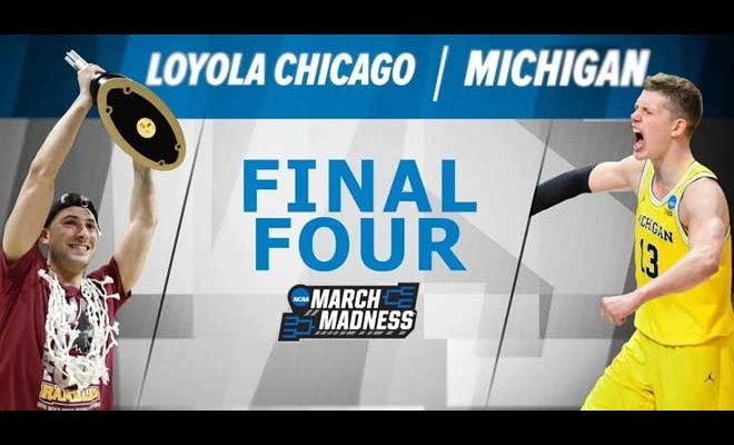 Image result for Michigan vs Loyola (Chi) Live