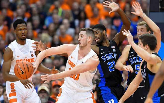 Sweet Sixteen Odd and Predictions #11 Syracuse Orange vs. #2 Duke Blue Devils