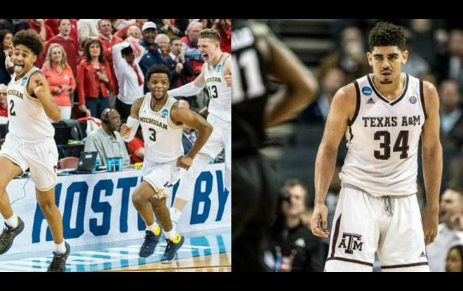 #7 Texas A&M Aggies vs. #3 Michigan Wolverines Latest Odds and Free Sweet Sixteen Predictions