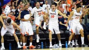 Virginia Cavaliers is the favorite at all Sportsbooks for betting on March Madness South Regional Tournament
