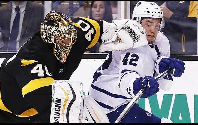 Boston Bruins vs. Toronto Maple Leafs Latest Odds and Picks - Thursday April 12th, 2018