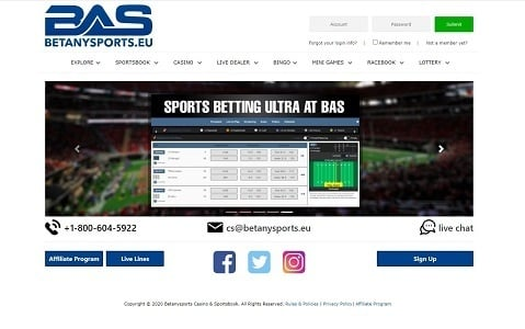 BetAnySports Sportsbook Review by BestOnlineSportsbooks.info