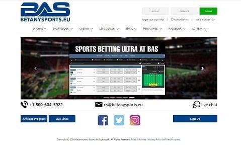 BetAnySports Sportsbook Review by BestOnlineSportsbooks.info