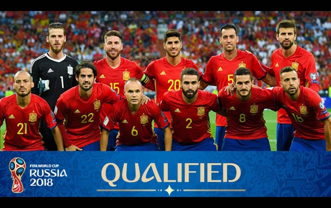 Spain 2018 World Cup Betting odds and preview