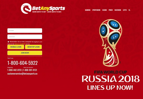 BetAnySports Sportsbook Review by experts - 50% Welcome Bonus
