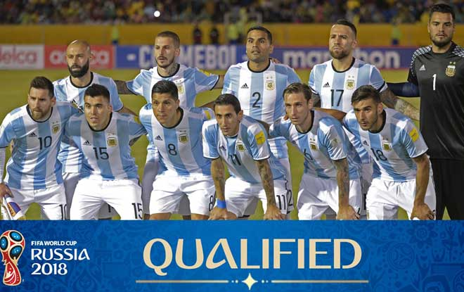 2018 World Cup Betting Odds for Argentina team.