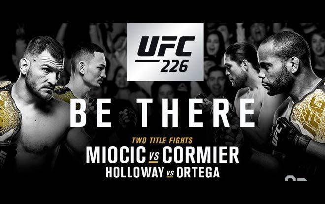 Stipe Miocic vs. Daniel Cormier UFC 226 Expert Pick, odds and analysis