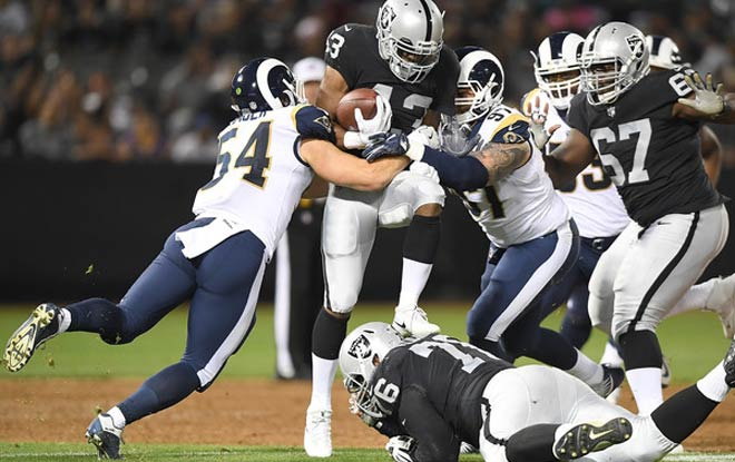 Los Angeles Rams vs. Oakland Raiders NFL 2018 Week 1 Betting Odds and expert predictions