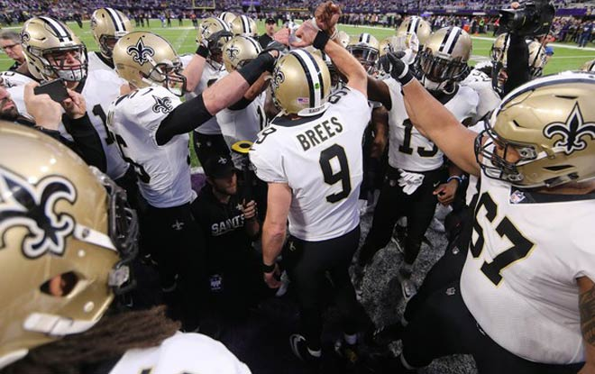 2018 New Orleans Saints NFL Betting Odds and Schedule