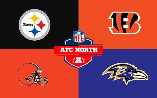 AFC North Division NFL Betting Odds and Predictions