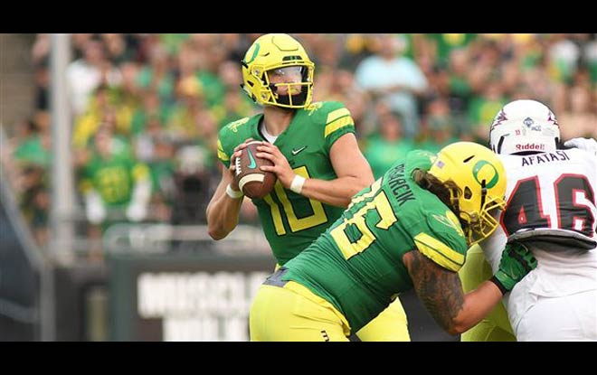 Bowling Green Falcons vs. Oregon Ducks Sportsbook Odds and Betting Information