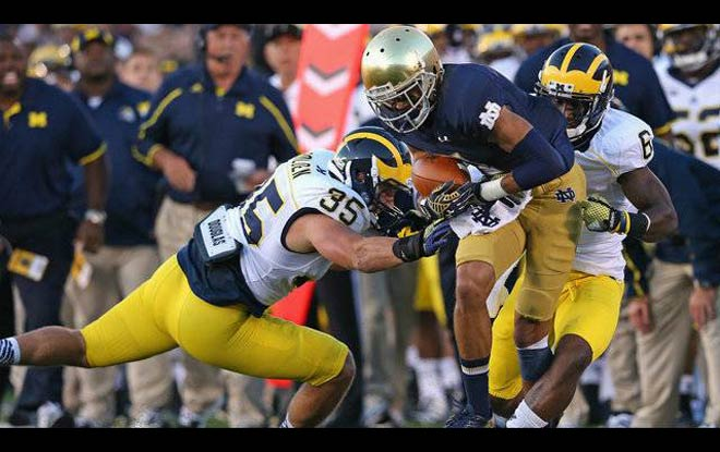 Michigan Wolverines vs. Notre Dame Fighting Irish Odds, trends and expert predictions