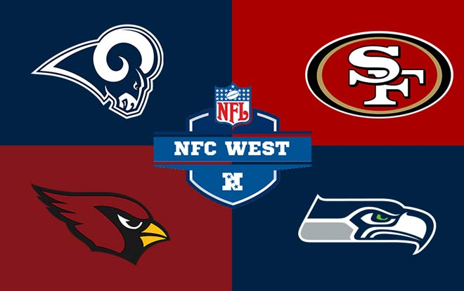NFC West Division 2018 - 2019 top sportsbook odds and expert predictions