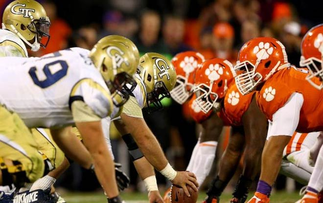 Sportsbook Odds in Favor of Clemson Tigers against Georgia Tech Yellow Jackets