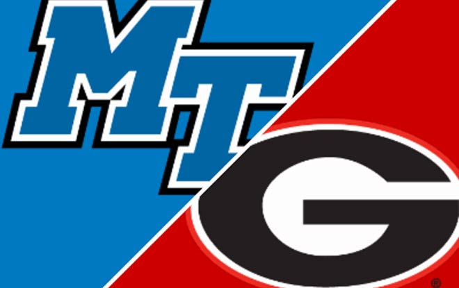 Middle Tennessee Blue Raiders at Georgia Bulldogs Betting Picks and Odds