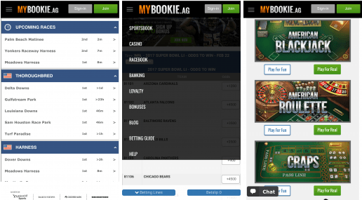 MyBookie Sportsbook - Sports Betting Apps for US Clients