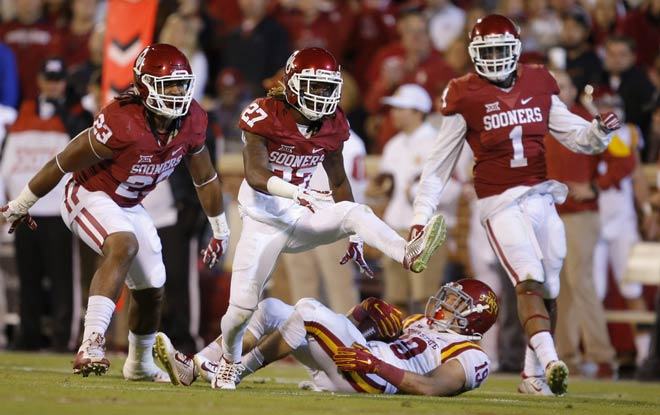 Oklahoma Sooners vs. Iowa State Cyclones Latest College Football betting Odds