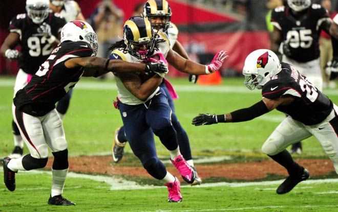 Arizona Cardinals vs. Los Angeles Rams latest odds, trends and expert predictions.