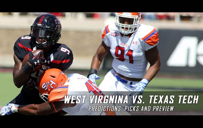 West Virginia Mountaineers at Texas Tech Red Raiders Latest Odds and Expert Predictions