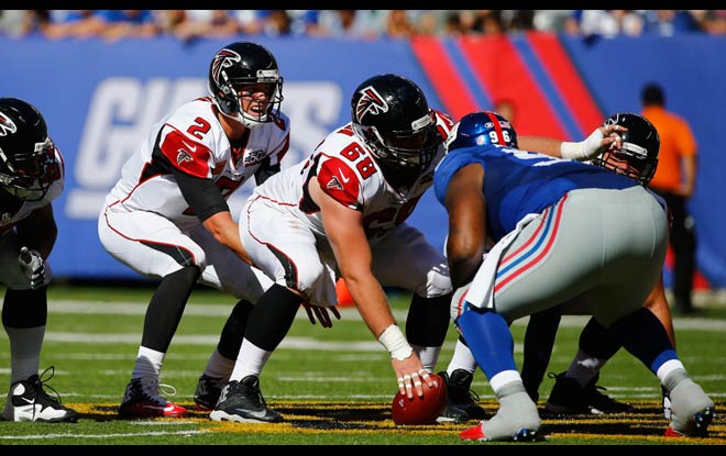 Falcons Favorites at Legal Betting Sites against Giants in MNF
