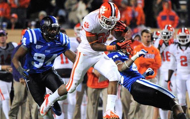 #2 Clemson Tigers Massive Betting Favorites vs. Duke Blue Devils