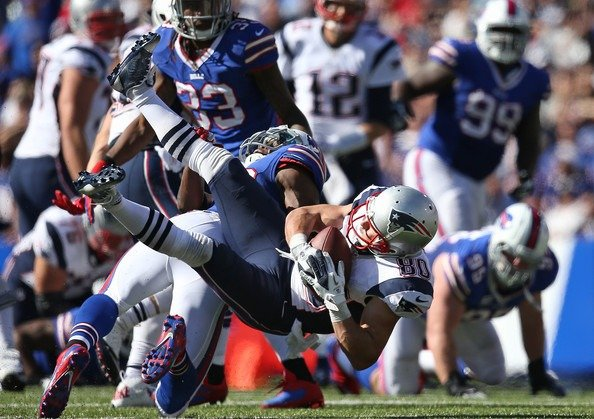 New England Patriots versus Buffalo Bills latest odds